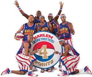 Harlem Globetrotters 2011 world tour; 4 points