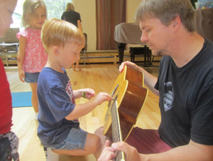 Kids Rock U; music class for kids in Rockland County, NY