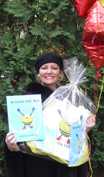 "Kate Sandor, author of ""Buster the Bee"""
