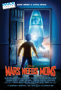 Mars Needs Moms, Disney movie poster