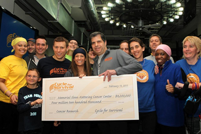 NYC 2011 MSKCC Cycle for Survival raises $4.2 million