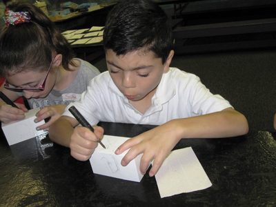 Children's crafts at the Cold Spring Harbor Whaling Museum