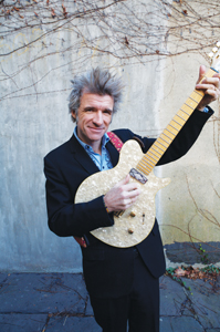 Dan Zanes playing guitar