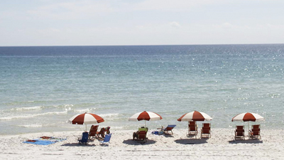 Beach in South Walton, Florida