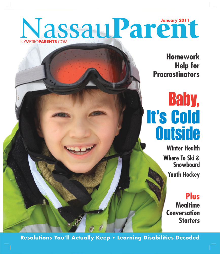 Nassau Parent magazine, January 2011 cover