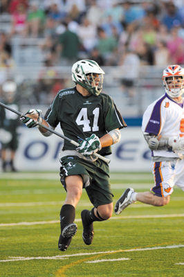Long Island Lizards player, 41; Nicky Polanko; Warrior Defensive Player of the Year