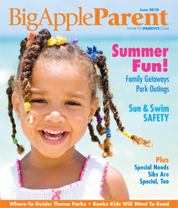 Big Apple Parent June 2010 cover