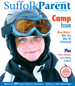 Suffolk Parent February 2010 cover
