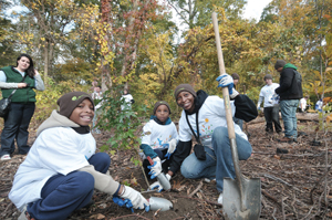 MillionTreesNYC Earth Day activities
