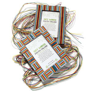 Get Wired photo frame by Two's Company