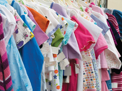 secondhand clothing store; consignment shop; used clothes