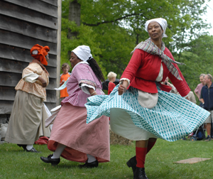 Pinkster Festival; historic festival in the Hudson Valley