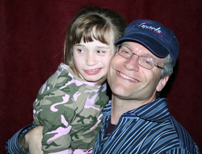 Jon Singer and daughter Rebecca