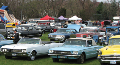 St. Patrick School Spring Car Show in Smithtown, NY