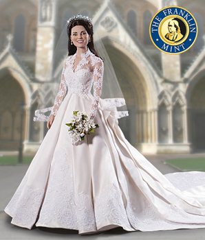 Kate Middleton Royal Wedding Bridal Doll