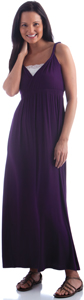 Yala bamboo maxi dress; maxi dress for mom