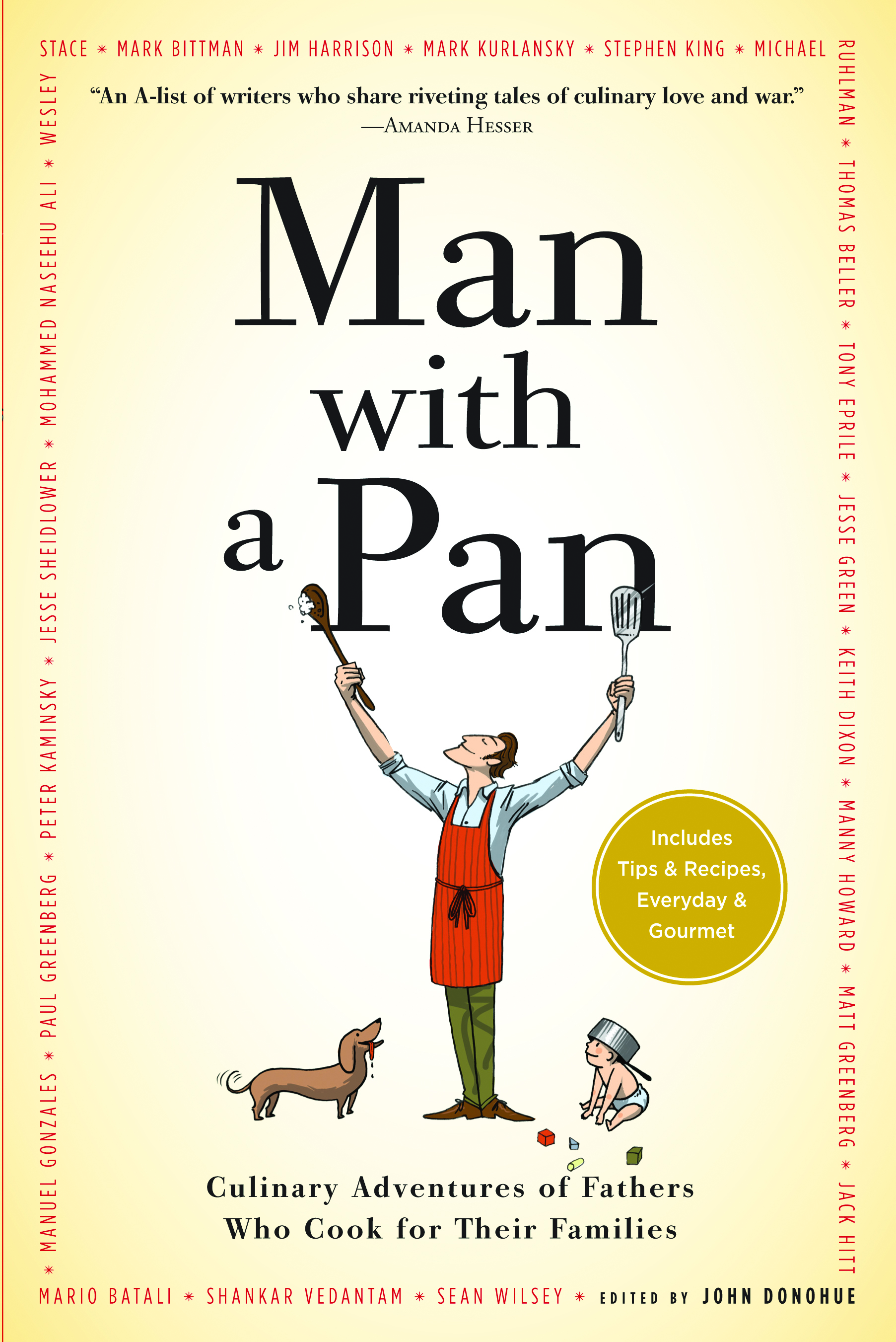 man with a pan book cover