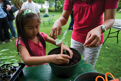 Get Your Hands Dirty Day at Wave Hill