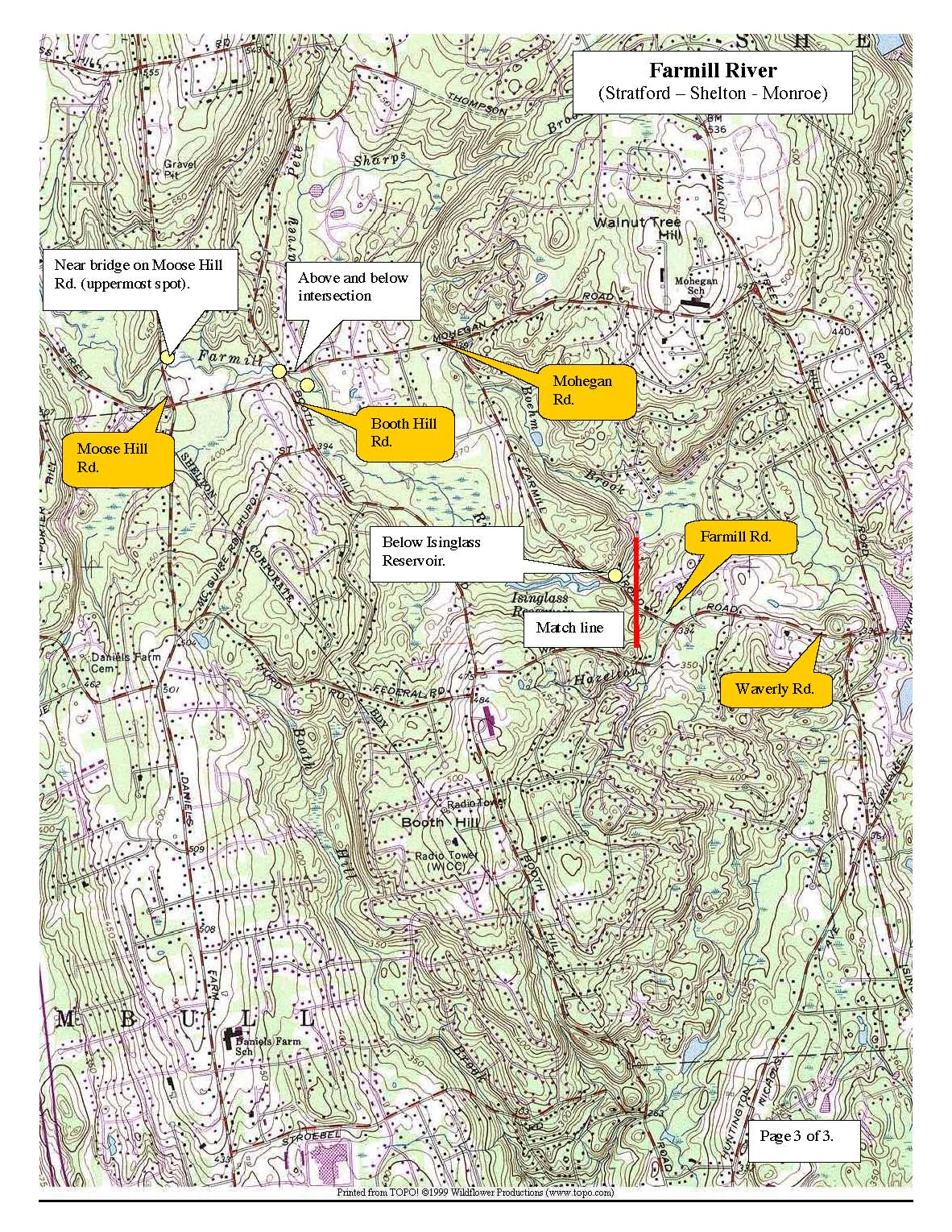 farmill-river-shelton, trout-stocking-map-page-three