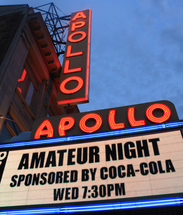 apollo theater sign amateur