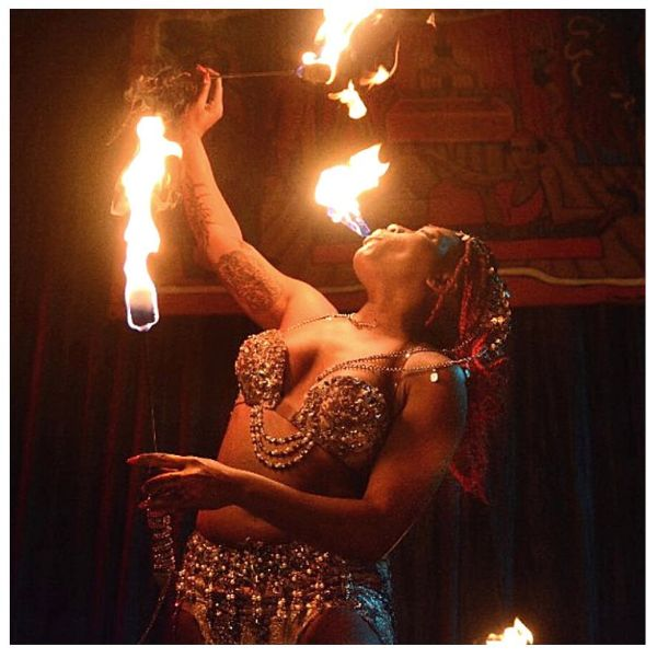 sideshow coney island fire eater