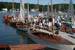 Wooden Boat Show, Mystic Seaport, CT