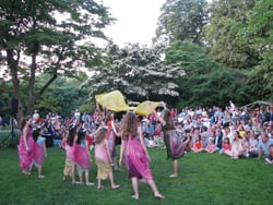 Midsummer Night at Old Westbury Gardens