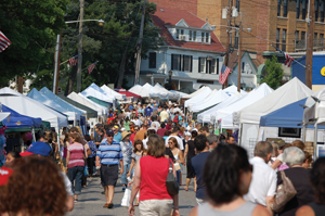 HarborFest Dock Day and Craft Festival in Port Washington, New York