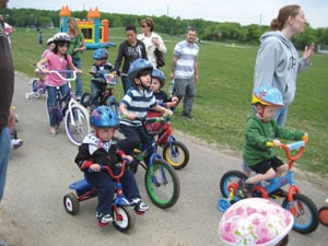 Bikes Kids Special Need Donate The kids can ride trikes