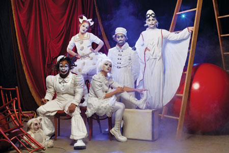 Cirque du Soleil presents Zarkana at Radio City Music Hall in New York City