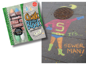 Chalk the Block, sidewalk chalk set