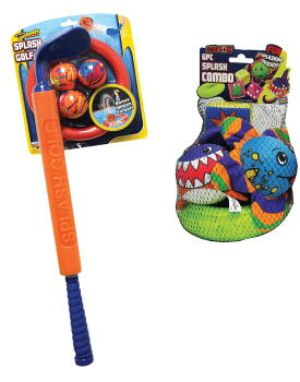 Splash Golf and Splash Combo water toys