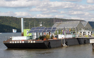 Hudson River Science Barge in Yonkers NY