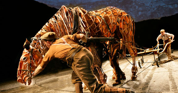 War Horse on Broadway in NYC
