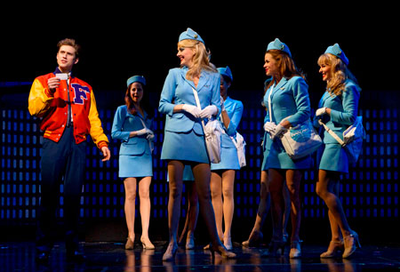 Aaron Tveit stars in Catch Me If You Can on Broadway