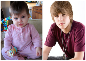 baby with justin bieber