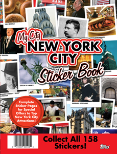 My City New York City Sticker Book