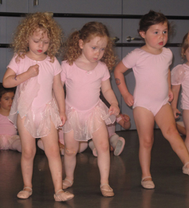 ballet class for kids