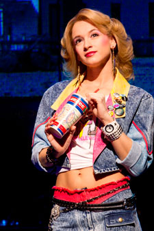 Emily Padgett in Broadway's Rock of Ages
