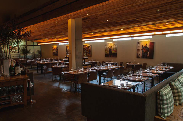 An interior view of David Burke Kitchen.