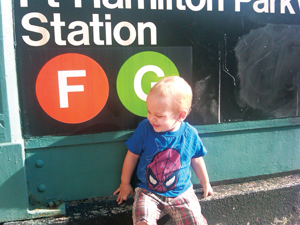 Hamilton Park subway station, Brooklyn