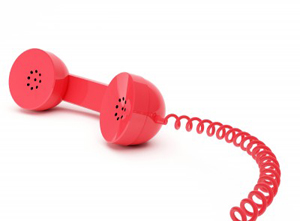 red emergency telephone