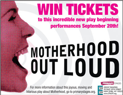 Win Tickets to Motherhood Out Loud in NYC