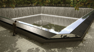 National September 11 Memorial in NYC