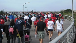 Long Island Heart Walk, Jones Beach