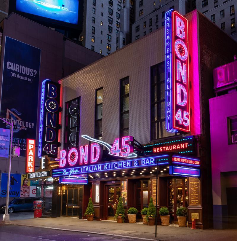 bond 46th street neon