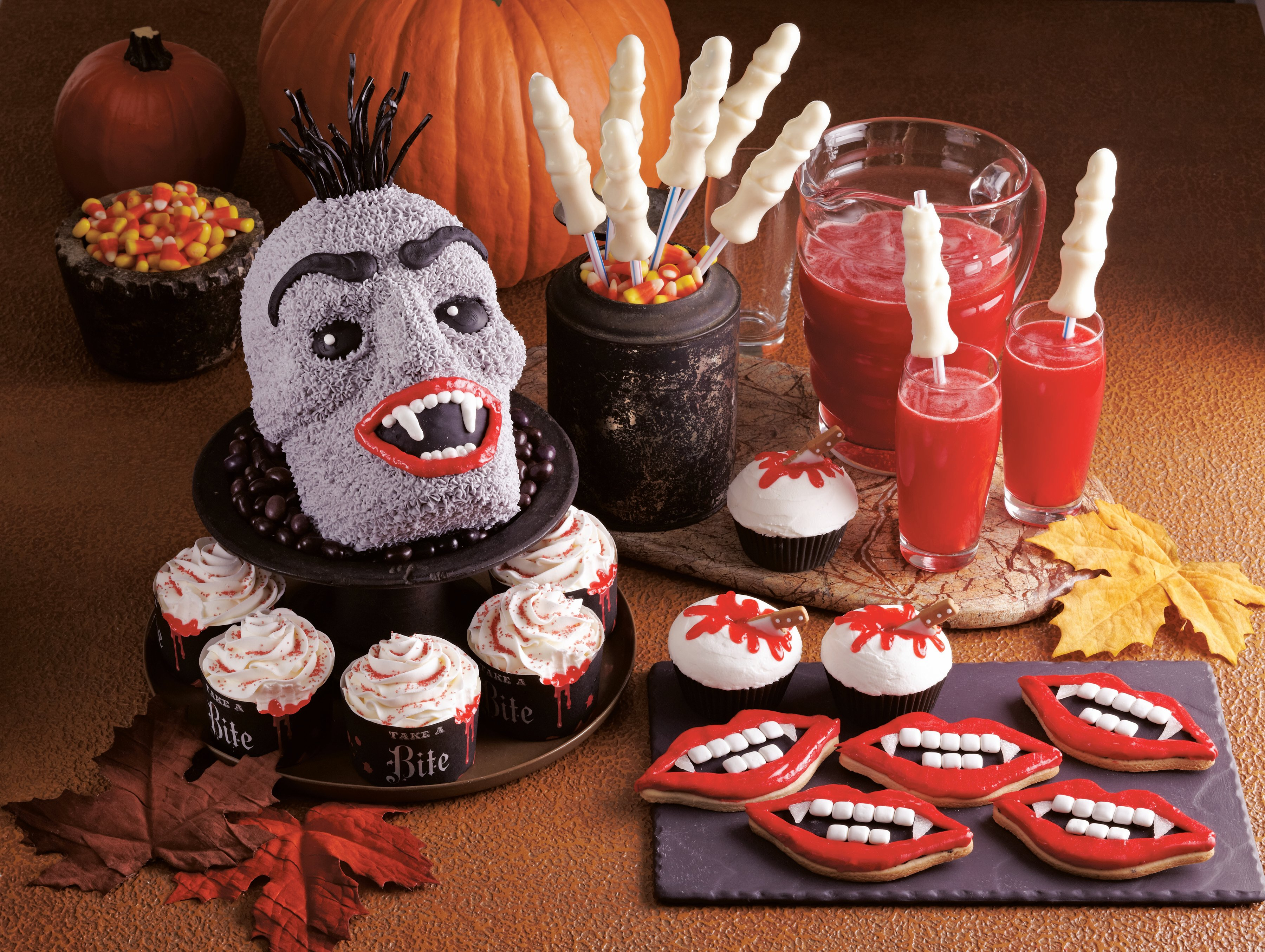 vampire halloween recipes