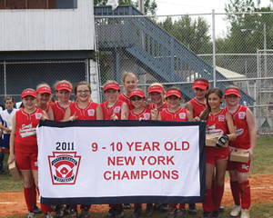 South Orangetown 9-10 year old softball all-stars