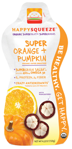 Happy Squeeze Super Orange Pumpkin Smoothie