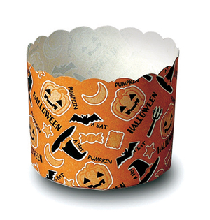 Halloween cupcake cups hat design